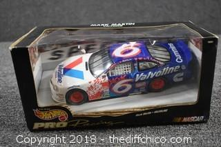 Collectible Mark Martin #5 Hot Wheels Car