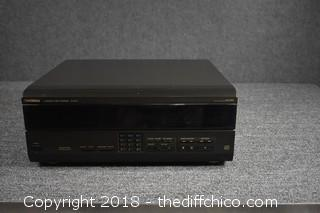 Technics 110 CD Changer-Powers Up