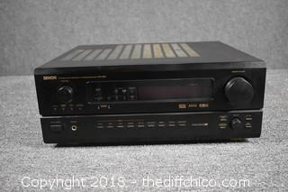 Denon Audio Component /Receiver AUR-3802-Powers Up