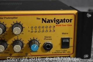 The Navigator World Tour Class Guitar Pre-Amplifier-Powers up