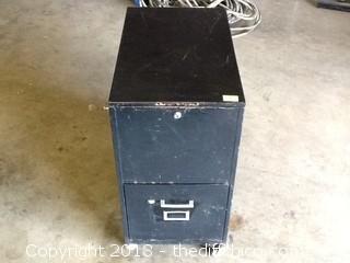 rolling metal file cabinet