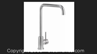 Brushed Stainless Kitchen / Prep Faucet (Solid T304 Stainless Steel)