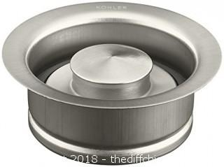 Brushed Nickel Solid Durable Disposal Flange and Stopper
