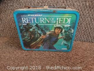 1985 Return Of The Jedi Lunch Box
