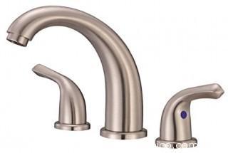 Danze Brushed Nickel Widespread Bathroom Faucet