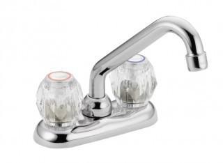 Moen 4975 Chrome Double Handle Laundry Faucet (JD-2)