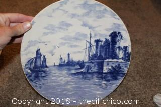 Villeroy and Boch Painted Plate