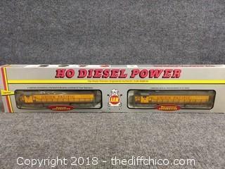 Ho Diesel Power Locomotive - NEW IN BOX