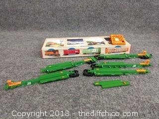 Walthers 263' 5-Unit Purpose Spine Car Burlington Northern #63755 932-3932 - NEW IN BOX
