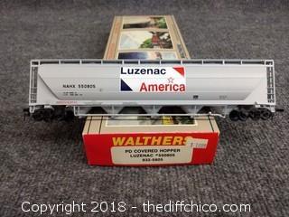 Walthers PD Covered Hopper Luzenac #550805 932-5805 - NIB