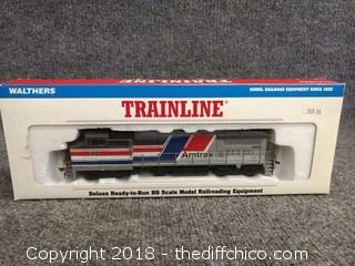 Walthers Trainline GE Dash 8 40BW Amtrak #500 931-152