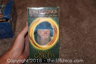 Lord of the Rings Collectible Goblet