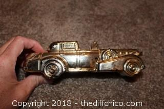 Avon Gold Car After Shave Bottle