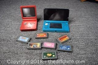 Untested Game Boys & Games