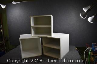 3 Storage Cubes