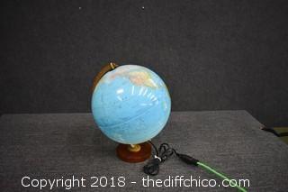 Working Globe - Lights Up
