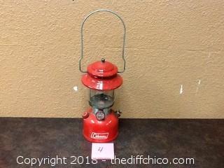 1970s colman lantern
