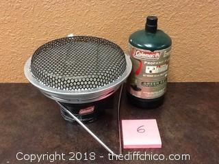 coleman catalytic propane heater
