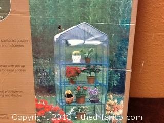 NIB mini greenhouse
