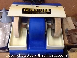 gemstone rock polisher