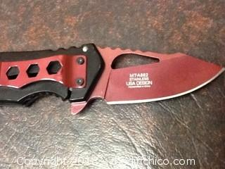 new Mtech pocket knife
