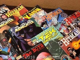 12 comics