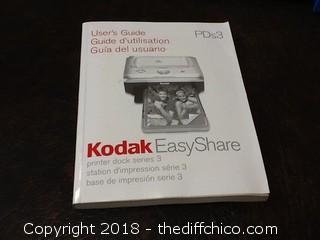 kodak easy share picture printer