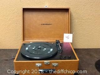 crosley keepsake record player