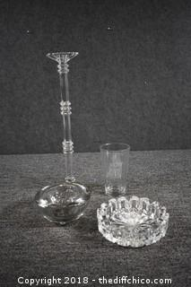Crystal Candle Holder & More