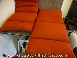 2 Chair Cushions