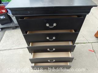 "5 Drawer Dresser T-48"" W-33"" D-18"" (Scuffed, Needs Minor Repair)"