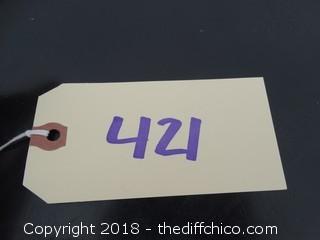 "4 Drawer Dresser T-42"" W-33"" D-17 1/2"""