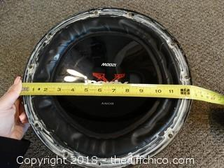 Sony Xplod 1200W Speaker Untested