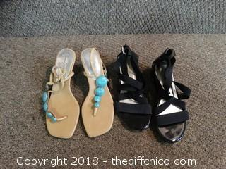 Two Pairs Of Heels