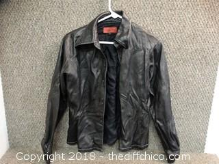 Nicola Berti Leather Jacket Size L