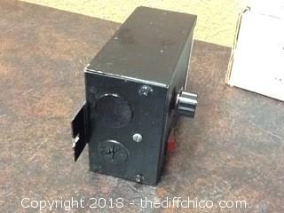 vari-drive DC motor speed control