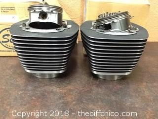 harley pistons and buckets