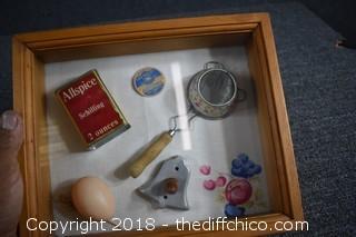 Framed Vintage Shadow Box