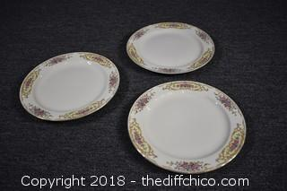 3 Vintage Replacement Dishes