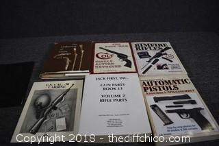 Lot of Gun Guide Books