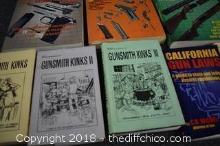 Lot of Gun Guide Books