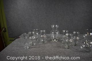Glass Vase Lot