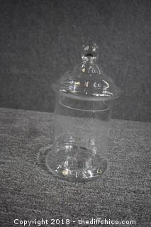 Large Glass Jar w/Lid