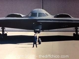 vintage B-2 Bomber poster