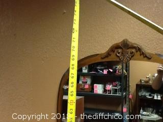 old 1920s dresser with mirror