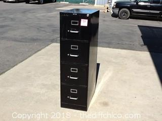 4 drawer metal file cabinet