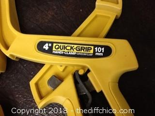 4'' quick grip clamps
