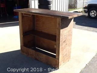 nice wood bar
