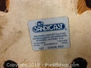 sandicast red show