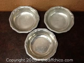 USA pewter bowls